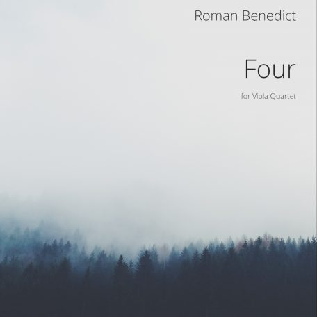 Front cover for Viola Quartet